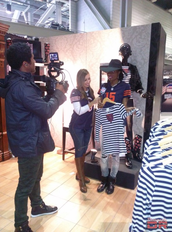 NFL Style Lounge Interview