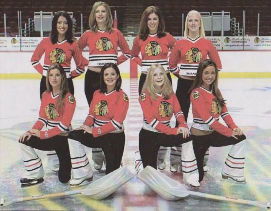 Blackhawks (NHL): Ice Girls