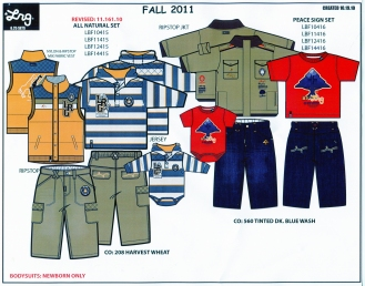 LRG Fall Boy's Sets