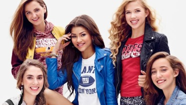 Zendaya Coleman in Outerstuff Juniors nfl collection