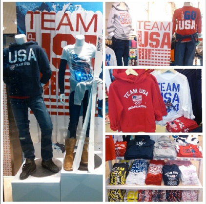 Team USA for Aeropostale