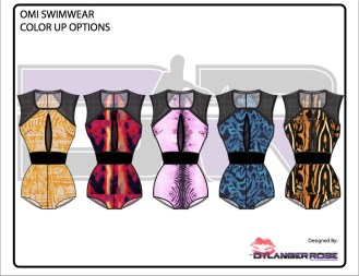 Omi Swimwear Design w/ Mood prints