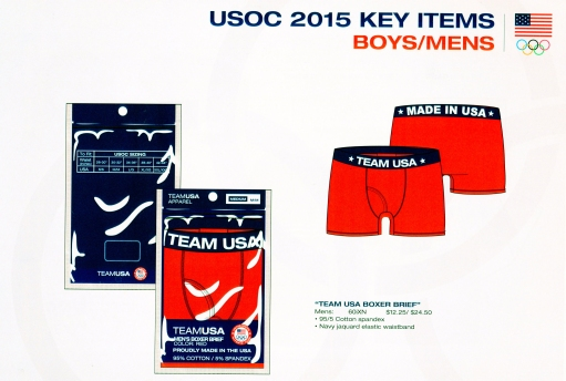 Team USA Men's/ Boy's Brief
