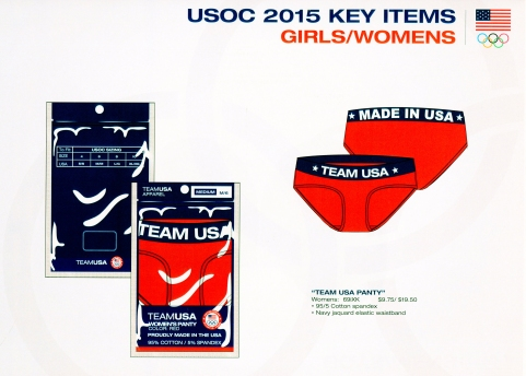 Team USA Women's/ Girl's Panty