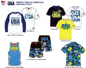 Team USA Rio Lifestyle Collection