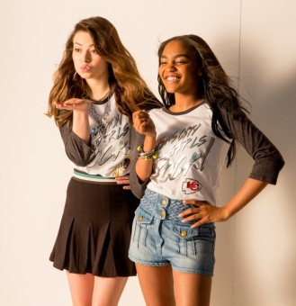 China Anne McClain and Miranda Cosgrove